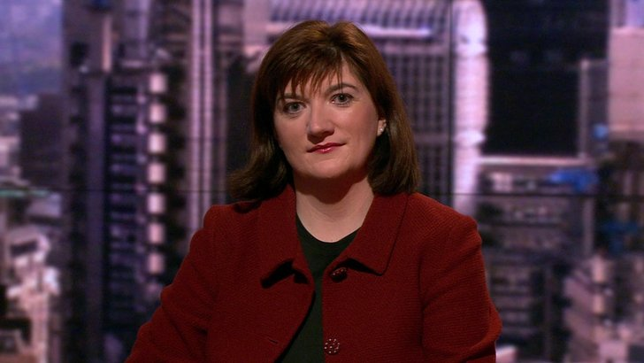 Nicky Morgan on The Andrew Marr Show
