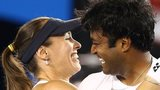 Martin Hingis and Leander Paes