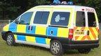 Cumbria Police van