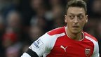 Arsenal playmaker Mesut Ozil