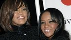 Whitney Houston (left) and daughter Bobbi Kristina Brown. Photo: 2011