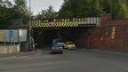 Stoke Road railway bridge - archive image