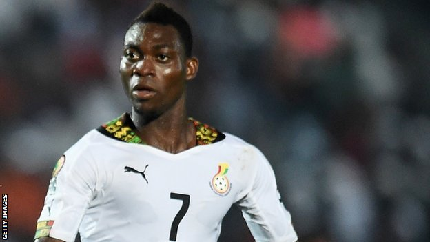 Christian Atsu Amazing Goal: Ghana 3 - 0 Guinea (HIGHLIGHTS) 2015 Africa Cup Of Nations
