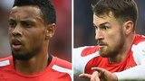Arsenal midfielders Francis Coquelin and Aaron Ramsey