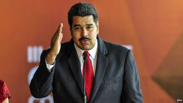 Maduro at the Celac meeting, 28 Jan 2015