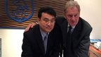 Dejphon Chansiri and Milan Mandaric
