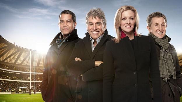 The BBC TV team