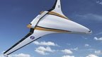 Nasa blended wing concept plane