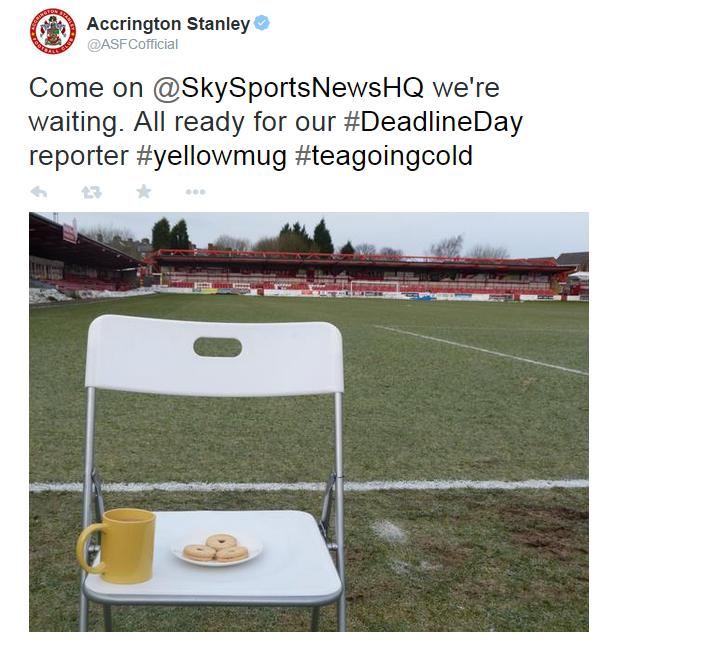 Deadline day