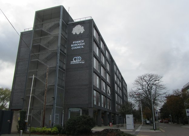 Ipswich borough council looks to buy grafton house saving for Grafton house