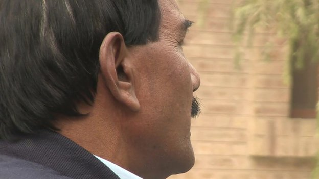 Asia's husband Ashiq Massih