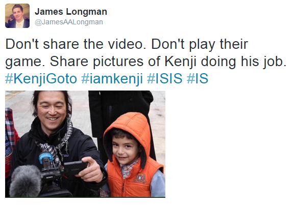 James Longman tweet