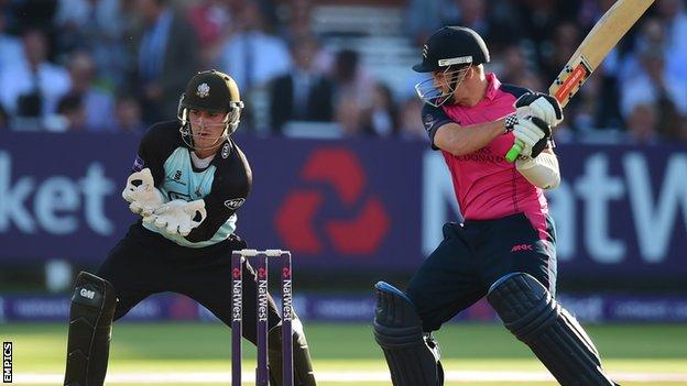 BBC Sport - Ryan Higgins: Middlesex batsman signs contract ...