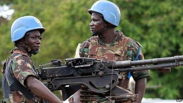 UN troops in eastern DR Congo (23 October 2014)