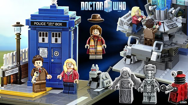 Lego Doctor Who figures
