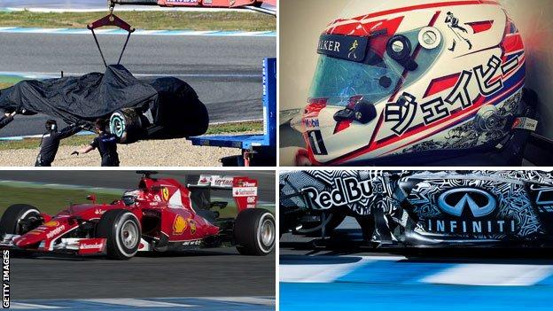 Formula 1 Jerez testing