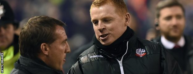 Brendan Rodgers and Neil Lennon