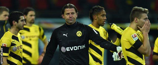Borussia Dortmund keeper Roman Weidenfeller