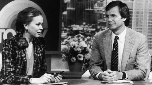 Tom Brokaw and Jane Pauley