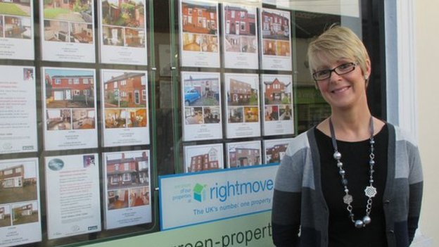 Claire Wax, Green & Co estate agency, Tamworth