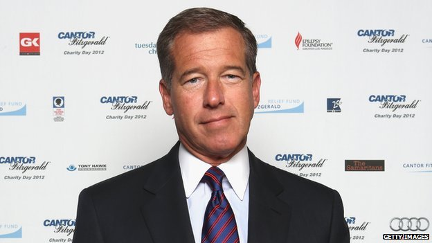NBC News anchor Brian Williams.