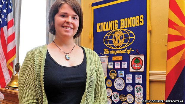US woman Kayla Jean Mueller, who IS say was killed in an air strike in Syria