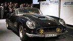 The rare Ferrari sports car