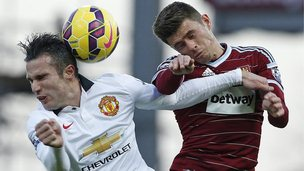 West Ham v Manchester United
