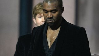 BBC News - Kanye West says Grammys 'lack respect' after Beck win