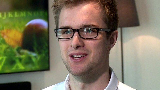 Samsung smart TV owner Peter Kent