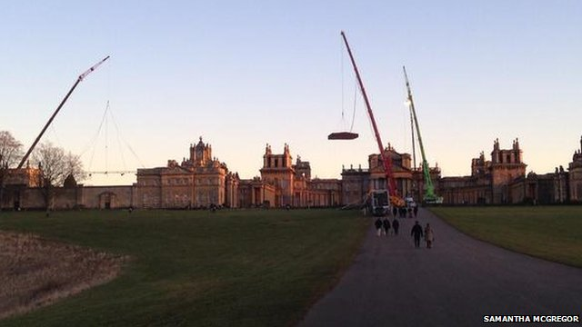 Blenheim palace bond