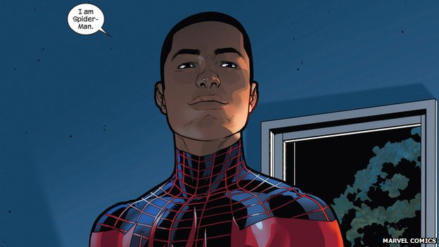 Miles Morales is alternative version of Marvel Comics' Spider-Man