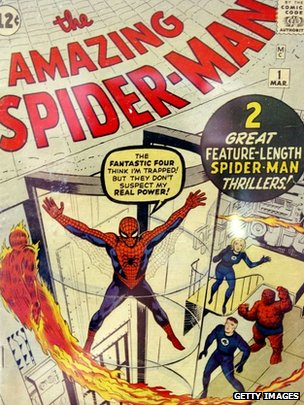 Spider-Man comic book