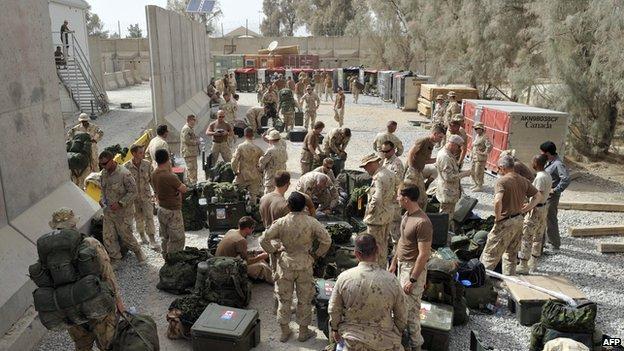 Canadian troops preparing to leave Afghanistan in 2011