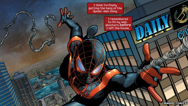Miles Morales' Spider-Man has become a breakout star in the Ultimate line of Marvel Comics