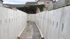 After - the flood alleviation work in place