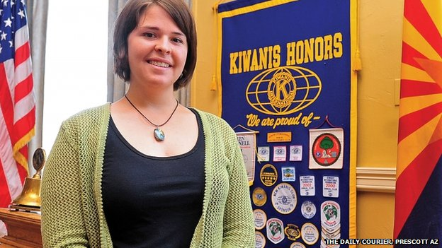 Kayla Mueller, pictured in 2013