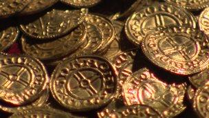 Ancient coins found