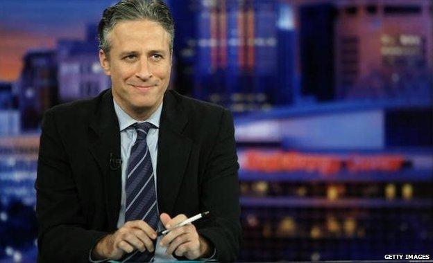 Daily Show presenter Jon Stewart
