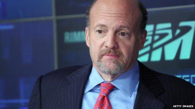 Financial pundit Jim Cramer