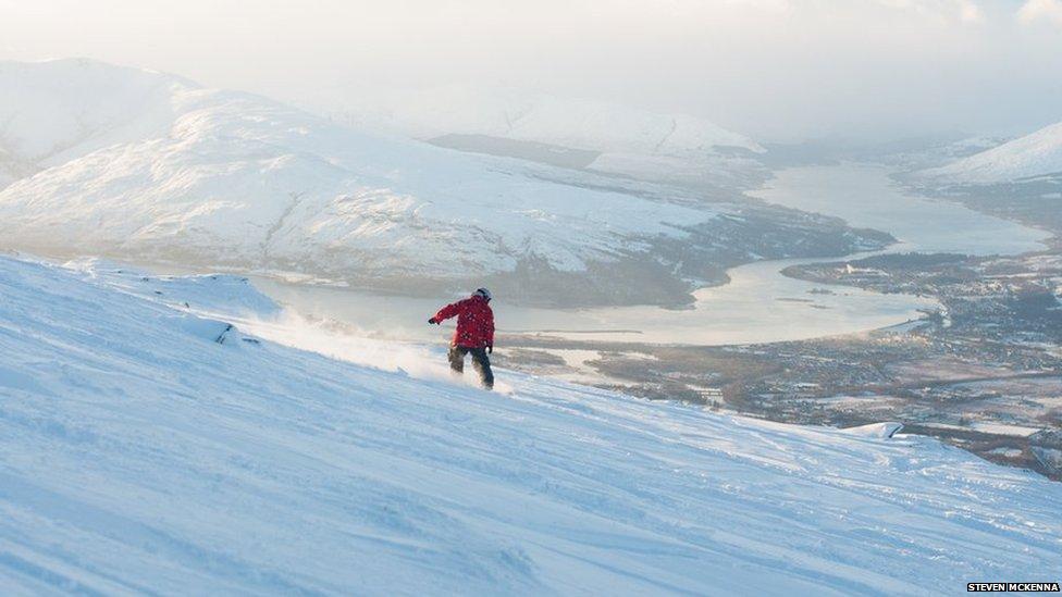 learning snowboarding vs . winter sports essay