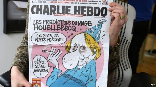 A cover of the Charlie Hebdo newspaper