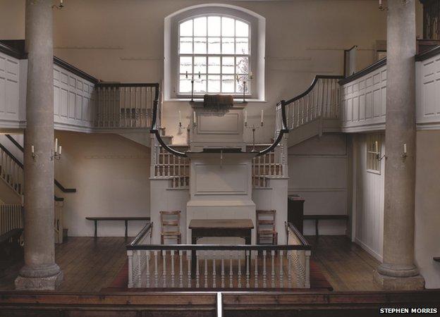 Bbc News John Wesley Chapel Oldest Methodist Building