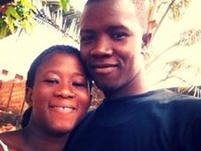 Jeremiah and Desiama in Freetown