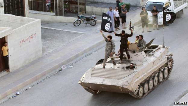 Islamic State has its stronghold in Raqqa, Syria