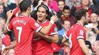 Manchester United's Di Maria, Falcao & Juan Mata