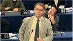 Philippe Lamberts speaks in European Parliament, 12 Feb 2015