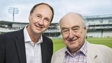 Test Match Special's Jonathan Agnew and Henry Blofeld