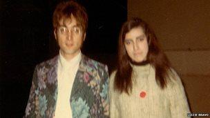 John Lennon with Lizzie Bravo