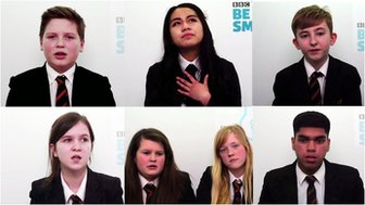 Students from St Mary Ward Catholic Academy who took part in Be Smart